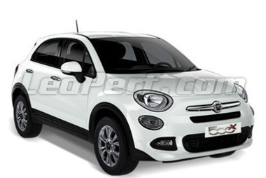 leds pour fiat 500x 2014 2019. Black Bedroom Furniture Sets. Home Design Ideas