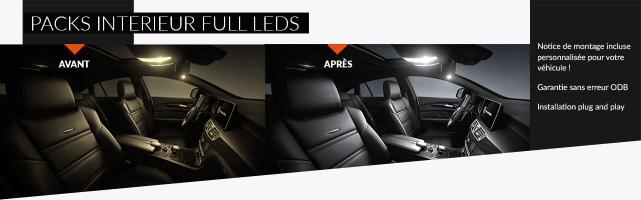 Packs Intérieur full LED