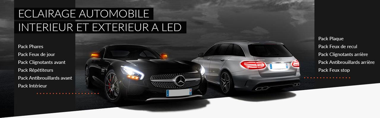 eclairage automobile intrieur et extrieur led
