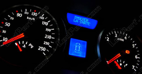kit led compteur tableau de bord renault megane 2 bleu rouge blanc vert. Black Bedroom Furniture Sets. Home Design Ideas