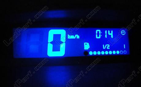 kit clairage led compteur bleu pour renault twingo ebay. Black Bedroom Furniture Sets. Home Design Ideas