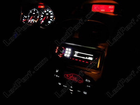 kit led compteur tableau de bord peugeot 206 mux bleu rouge blanc vert. Black Bedroom Furniture Sets. Home Design Ideas