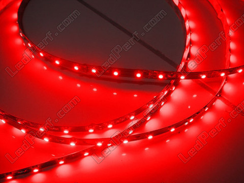 Bande flexible leds smd secable Rouge
