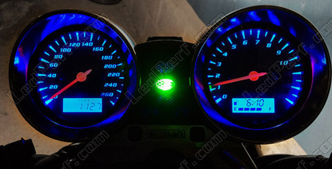 kit led compteur pour suzuki bandit 600 bleu rouge blanc vert. Black Bedroom Furniture Sets. Home Design Ideas
