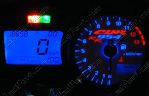 Kit led compteur pour honda cbr 954 rr bleu rouge blanc vert - Kit de retroeclairage led pour tv ...