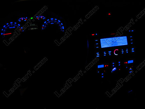 kit led compteur tableau de bord skoda octavia 2 1z bleu rouge blanc vert. Black Bedroom Furniture Sets. Home Design Ideas