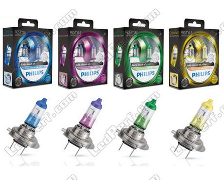pack de 2 ampoules h7 philips colorvision. Black Bedroom Furniture Sets. Home Design Ideas