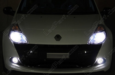 Ampoules Diamond white au gaz xenon 5000K HIR2 9012 Michiba Led