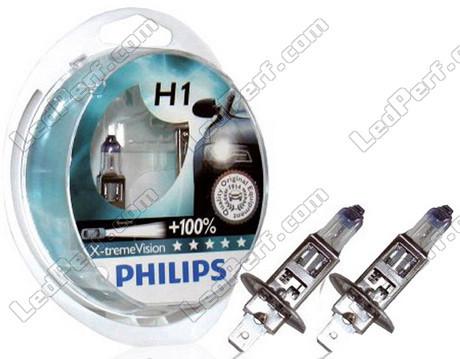 pack de 2 ampoules h1 philips x treme power vision. Black Bedroom Furniture Sets. Home Design Ideas
