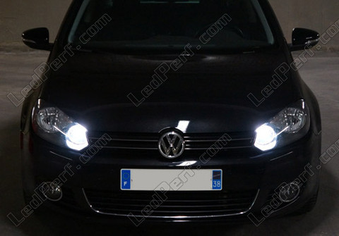 Ampoule Diamond white au gaz xenon 4000K H15 Michiba Led