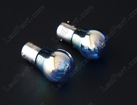 Ampoule au gaz xenon P21W Chrome Super White led
