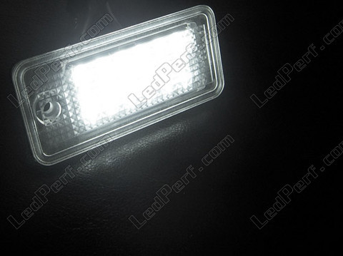 Led Module Plaque Immatriculation Audi A4 B6 Tuning
