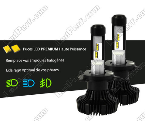 kit bi led h4 haute puissance pour phares garantie 5 ans et port offert. Black Bedroom Furniture Sets. Home Design Ideas