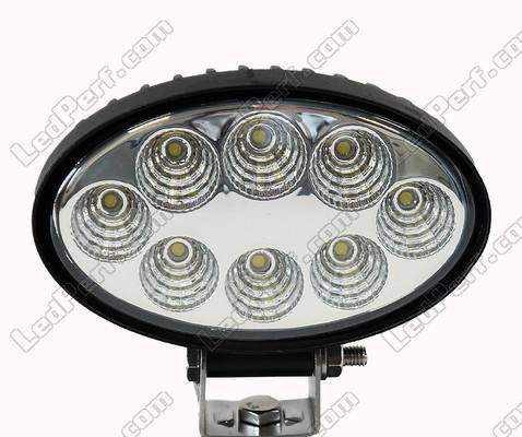 Phare Additionnel LED Ovale W Pour X Quad Et SSV - Longue portée 4x4