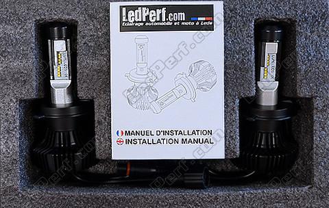 Kit ampoules bi led haute puissance pour phares de citroen for Citroen c1 led verlichting