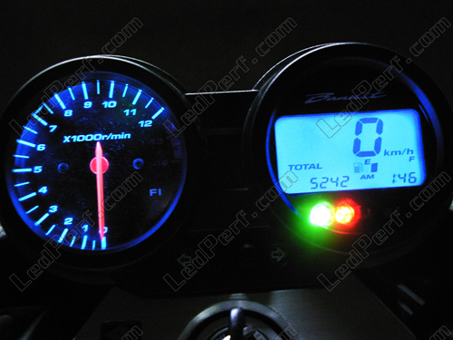 kit led compteur pour suzuki bandit 650 bleu rouge blanc vert. Black Bedroom Furniture Sets. Home Design Ideas