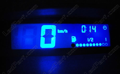kit clairage led compteur bleu pour renault twingo ebay. Black Bedroom Furniture Sets. Home Design Ideas