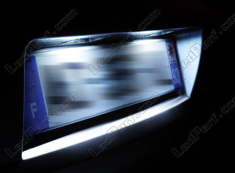 Led Plaque Immatriculation Fiat Freemont Tuning