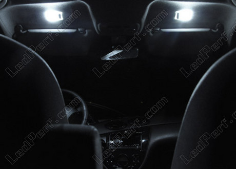 Pack full leds int rieur pour ford focus mk1 for Miroir ford focus