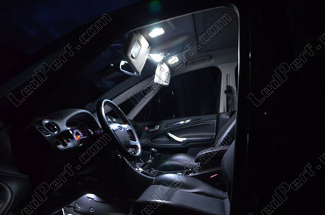 Pack full leds int rieur pour ford s max for Ford s max photos interieur