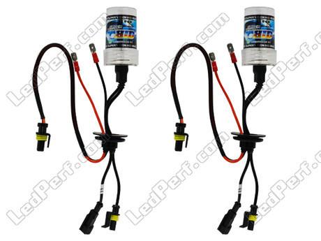 pack de 2 ampoules h1 8000k 35w de rechange pour kit. Black Bedroom Furniture Sets. Home Design Ideas