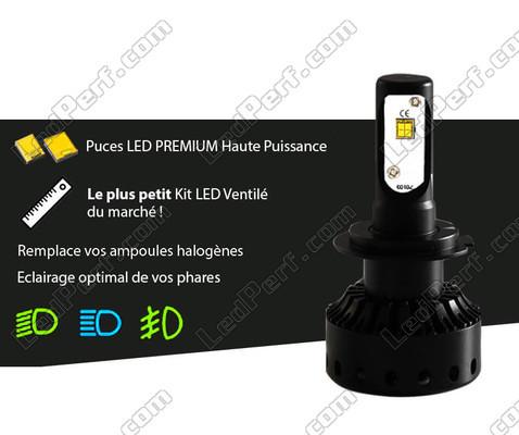 ampoule led h7 moto taille mini puissante et ventil e. Black Bedroom Furniture Sets. Home Design Ideas
