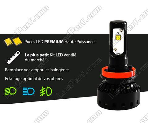 ampoule led h8 moto taille mini puissante et ventil e port offert. Black Bedroom Furniture Sets. Home Design Ideas