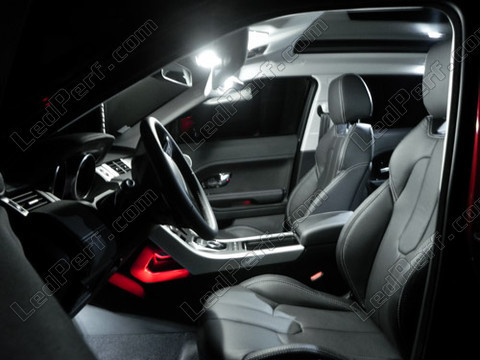 pack full leds int rieur pour range rover evoque. Black Bedroom Furniture Sets. Home Design Ideas