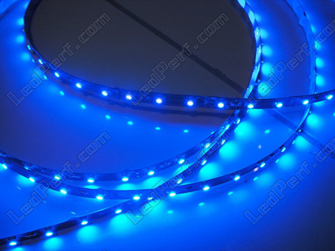 bande flexible 24v de 1 m tre 60 leds cms bleu. Black Bedroom Furniture Sets. Home Design Ideas