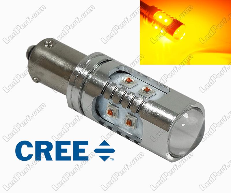 Les Ampoules H21W BAY9S 435 LED Blanches Canbus s/'Allument Feu Stop Arrière
