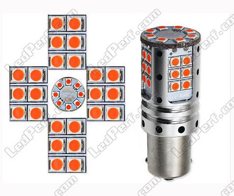 ampoule led py21w ultra puissante pour clignotants culot. Black Bedroom Furniture Sets. Home Design Ideas