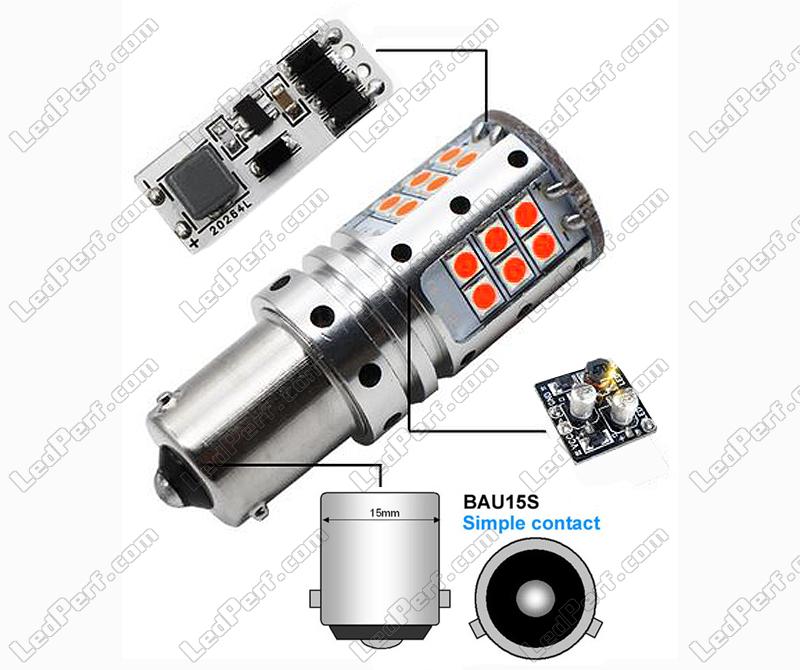 Clignotants Ultra Pour Led Py21w Puissante Bau15s Culot Ampoule Ac4S5jLRq3