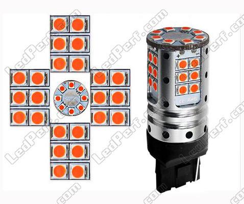 ampoule led wy21w ultra puissante pour clignotants culot t20. Black Bedroom Furniture Sets. Home Design Ideas