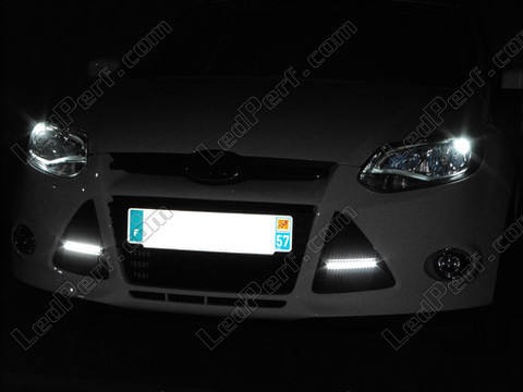 Led Feux diurnes - DRL - Feux de jour - waterproof - Ford Focus MK3