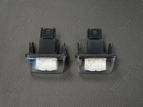 pack de 2 modules led plaque arri re d 39 immatriculation peugeot citroen type 1 anti erreur odb. Black Bedroom Furniture Sets. Home Design Ideas