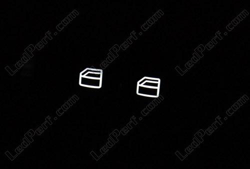 Kit led compteur/tableau de bord Mercedes Classe C W203 bleu ...