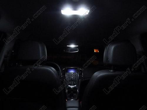 Intérieur Lumière DEL de remplacement Kit Pour Vauxhall Zafira A Gsi 98-05 12pcs Blanc