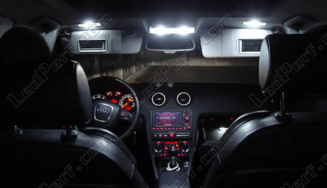 Led Habitacle Audi A3 8p