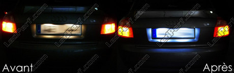 Led Plaque Immatriculation Audi A4 B6