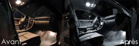 Led Habitacle Audi A4 B6