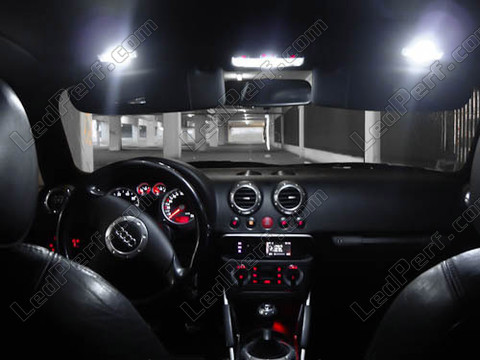 Pack full leds int rieur pour audi tt 8n for Audi tt 8n interieur tuning