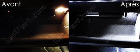 LedPerf.com - Eclairage automobile à Leds [Reduction] Pack_blanc_led_xenon_Volkswagen_Golf_6_tuning_boite_a_gants_2