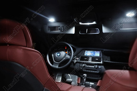 pack full leds int rieur pour bmw x6 e71 e72. Black Bedroom Furniture Sets. Home Design Ideas