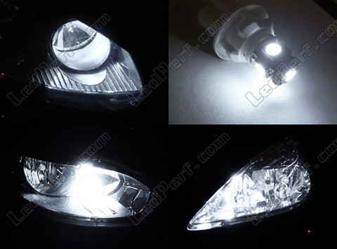Led Veilleuses Blanc Xénon Peugeot Ion Tuning