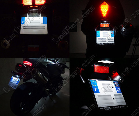 Led Plaque Immatriculation Aprilia Pegaso Strada Trail 650 Tuning