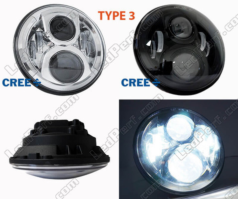 phare led rond pour bmw motorrad r nine t scrambler. Black Bedroom Furniture Sets. Home Design Ideas