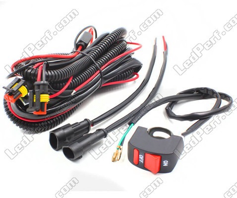 Cable D'alimentation Pour Phares Additionnels LED Ducati Multistrada 1100