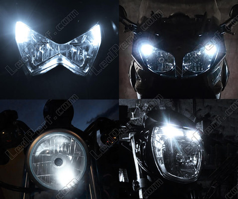 Led Veilleuses Blanc Xénon Kymco My Road 700 Tuning