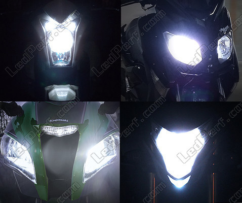 Led Phares Triumph  Tiger 1050 Tuning