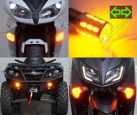 Led Clignotants Avant Yamaha X-City 125 Tuning